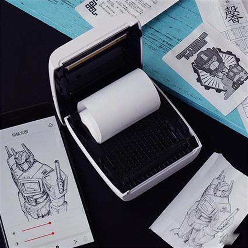 PAPERANG P2 Handheld Mini bluetooth Thermal Printer 300dpi HD 1000mAh Battery Portable Label Photo Printer