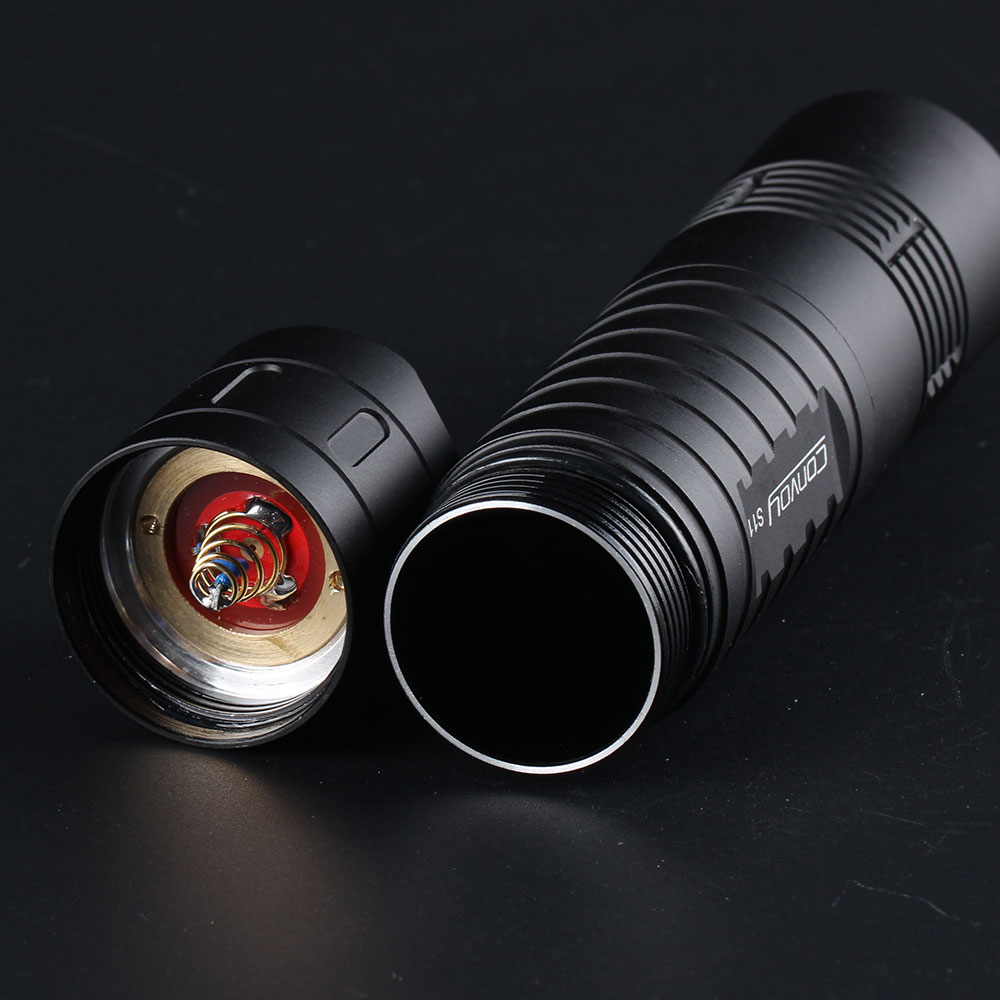 Convoy S11 XHP50.2 18W 2400lm 3A Output Brightness LED Flashlight Powerful Tactical Flashlight Mini Torch EDC 18650 Flashlight 26650 Flashlight Powerfull Flashlight