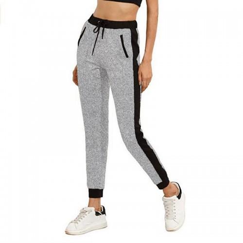 SUNNYME Women's Pants Jogging Track suits Gym Sports Pants Yoga Waist Top Pocket