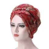 Women Bali Yarn Necklace Scarf Ethnic Tie Turban Cap Arab Wrap Scarf