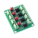 817 Optocoupler 4 Channel Voltage Isolation Board Voltage Control Switching Module Optical Isolation Module