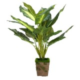 Artificial Plant Evergreen Flower Garden Wedding Party DIY Pot Home Office Decorations