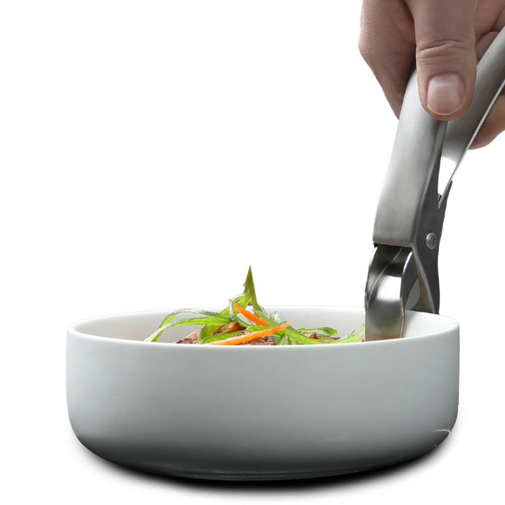 XIAOMI HUOHOU Stainless Steel Anti-scalding Clip Bowl Dishes Folder Stainless Steel Anti-Scalding Pot Bowl Anti-Hot Clip Manual Pot Oven Clip