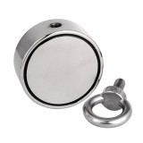 300kg D60mm Strong Salvage Magnet Pot Fishing Deep Sea Salvage Fishing Hook Neodymium Recovery Magnet