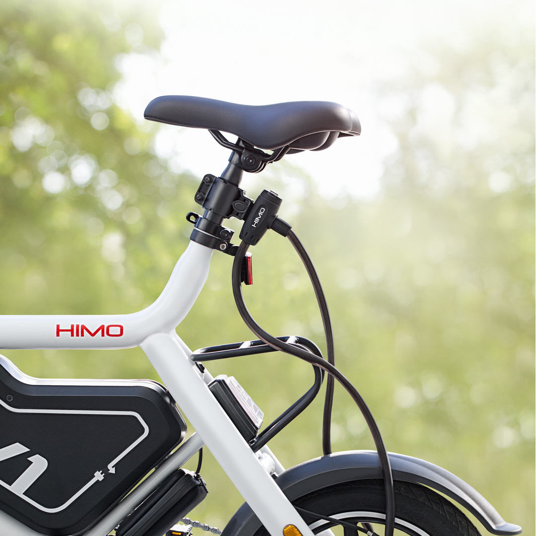 Xiaomi HIMO 4.5mm Bike Steel Cable Lock Waterproof Anti-theft Lock Cycling Bicycle Key Lock E-bike