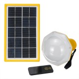 200LM Solar Panel Bulb Power 5 Modes DC Lighting System Kits Emergency Generator With Remote Control Outdoor Camping