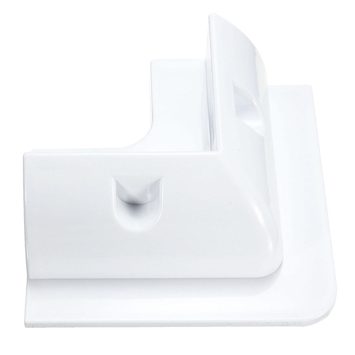 4Pcs Solar Panel Mounting Corner Drill-Free Glue Mounting Bracket Corner Frame Kit