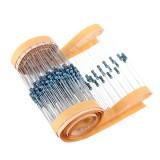 1000pcs 1/4W 10K Ohm Resistor +/- 1% 1/4w 10KR Ohm Metal Film Resistors 0.25W Watt Color Ring Resistance Carbon Film