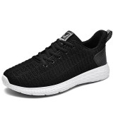 Men Mesh Lightweight Soft Knitted Casual Running Sneakers