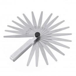 Set of 17 Blade Feeler Filler Gauge Spark Plug Gap Metric//IMP Measuring Tool EF