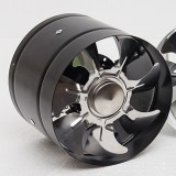 6Inch Inline Duct Fan Booster Exhaust Blower Air Cooling Vent Metal Blades