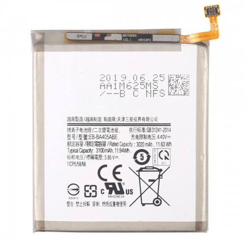 3020mAh Mobile Phone Replacement Battery for Galaxy A40