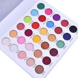 30 Colors Nude Matte Eye Shadow Palette Rainbow Color Eyeshadow Long-Lasting Eye Makeup Palette