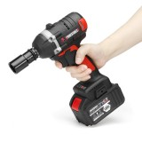 128VF 16000mah Brushless Electric Wrench Power Wrench Tool 330N.m Cordless Wrench Kit