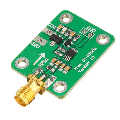 0.1 - 2.5GHz RF Power Meter Logarithmic Detectoration Assortment Logarithmic Detector Power Detection