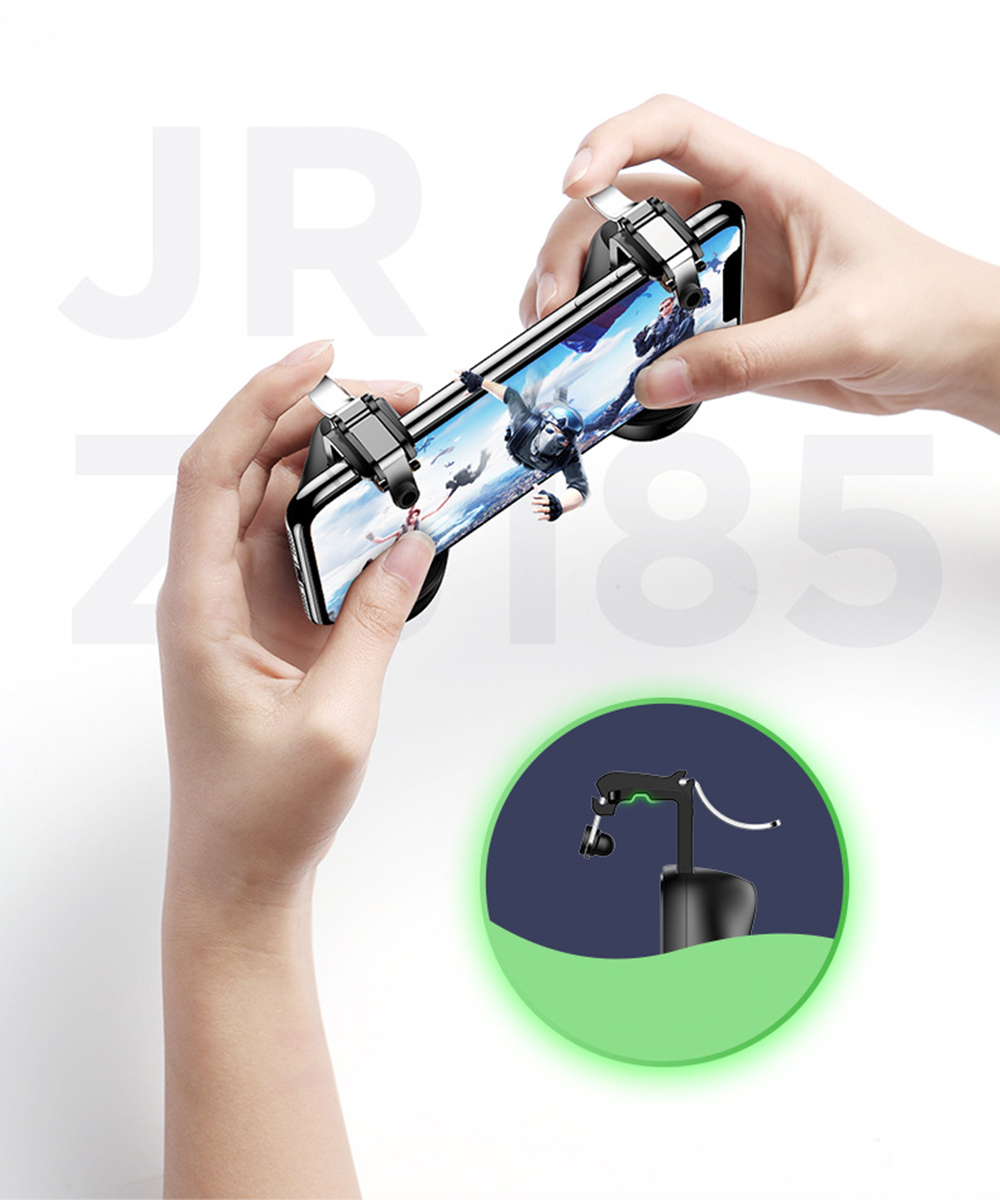 Joyroom Gamepad PUBG Mobile phone Game Controller Phone Gaming Joystick Fire Trigger Button Aim Key Shooter Game Pad Handle