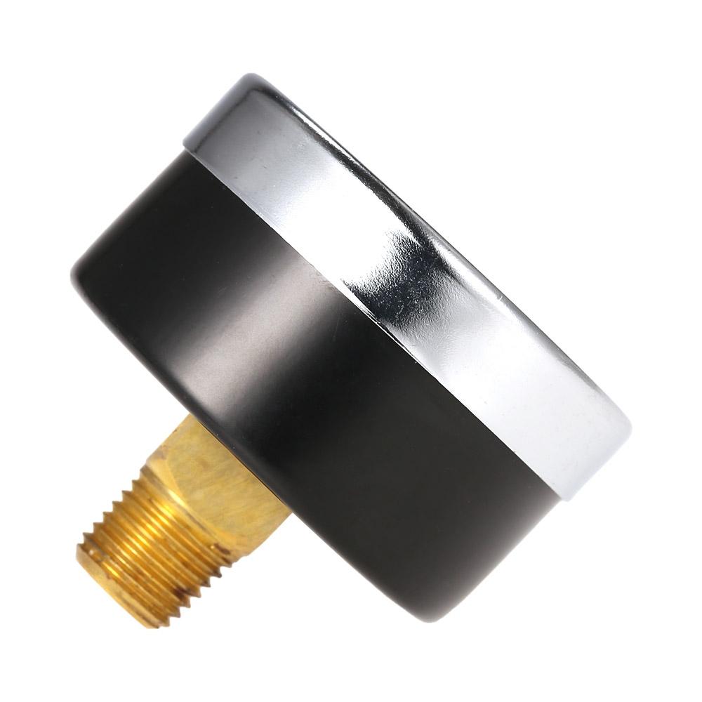 TS-50-14 Portable Pressure Gauge Air Compressor Hydraulic Vacuum Gauge Manometer Pressure Tester 0-200psi 0-14bar 1/4 NPT Pressure Gauge