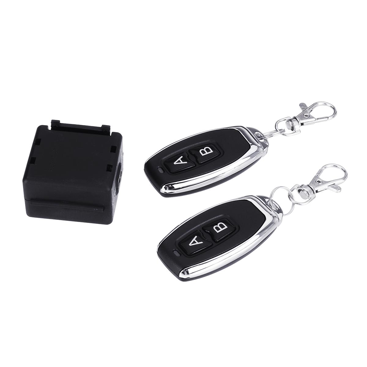 12V Single Wireless Remote Control Switch Relay Receiver Garage Door Shutter Door Remote Key
