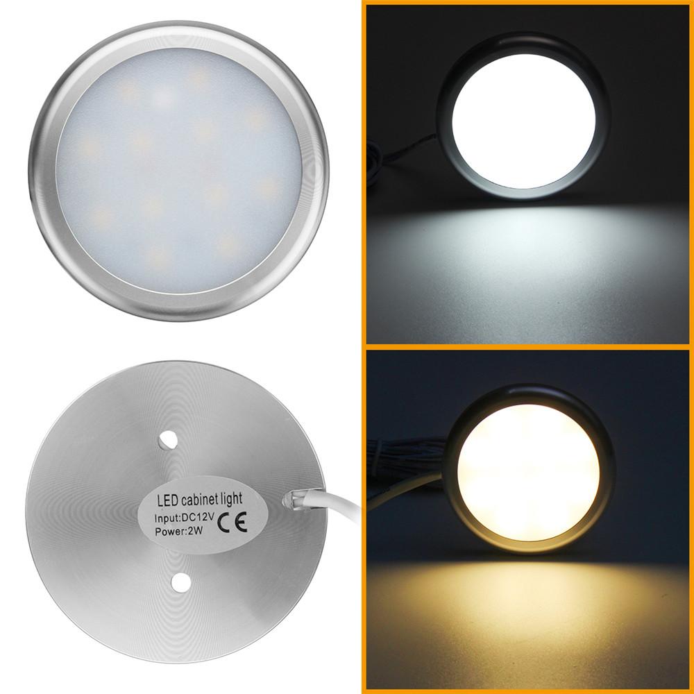 4//6//8//10x Interior LED Spot Light Cabinet For Caravan Camper Van Motorhome 12V