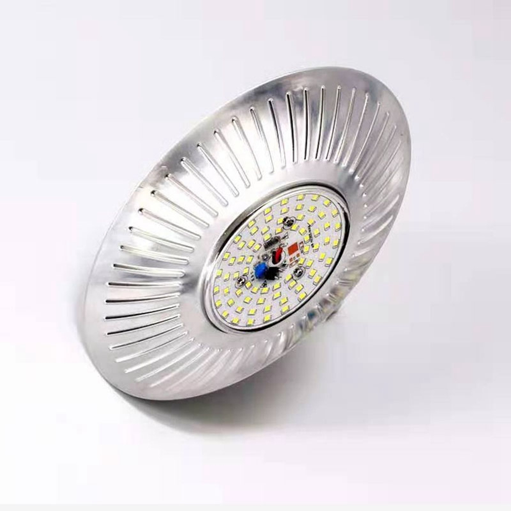 AC220V 50W E27 68 LED UFO Iodine Tungsten Mining Floodlight Bulb fr Outdoor IndustrialWarehouse