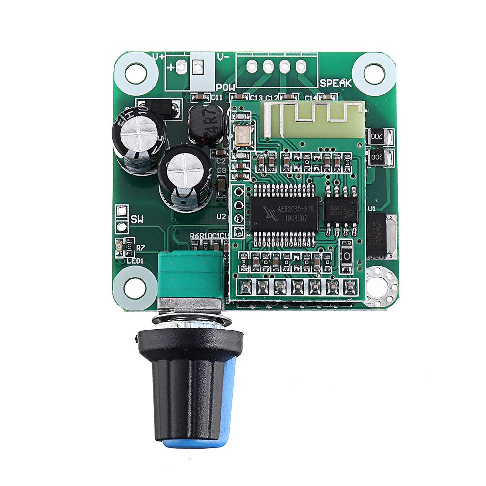 TPA3110 bluetooth 4.2 Digital Amplifier Board 15Wx2 Class D Stereo Power Amplifier DC 8V-26V