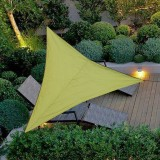 Outdoor Shade Sunscreen Waterproof Triangular UV Sunshade Sail Combination Net Triangle Sun Sail Tent Camping Garden