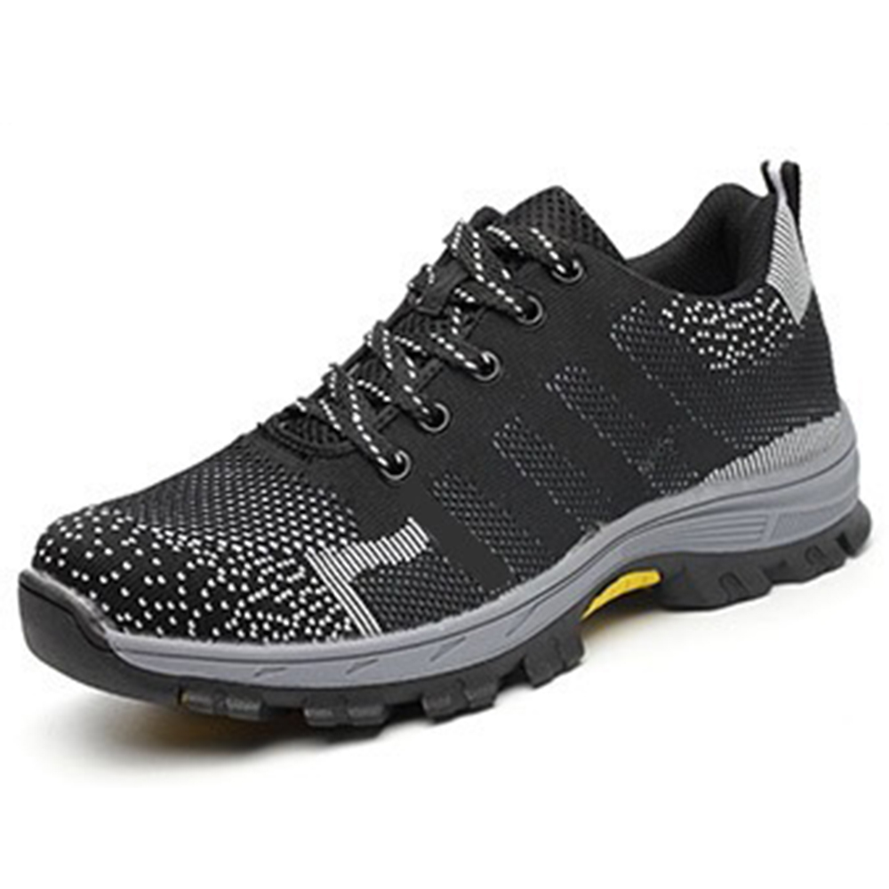 Men Outdoor Hiking Slip Resistant Breathable Running Sports Sneakers
