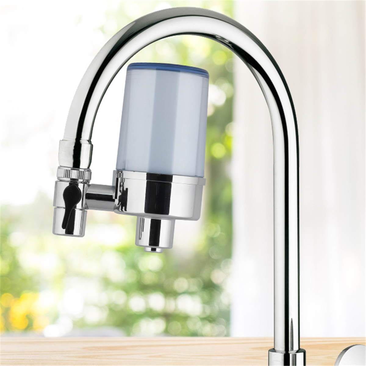 Faucet Water Filter Household Kitchen Washable Faucets Mount Tap Water  Purifier