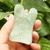 1pc Natural Jade Stone Guasha Manual Massager Board Health Beauty Gua Sha Facial Tool