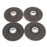 40/60/80/120 Grit Grinding Wheel Flap Disc 125mm 5 Inch Angle Grinder Sanding Tool