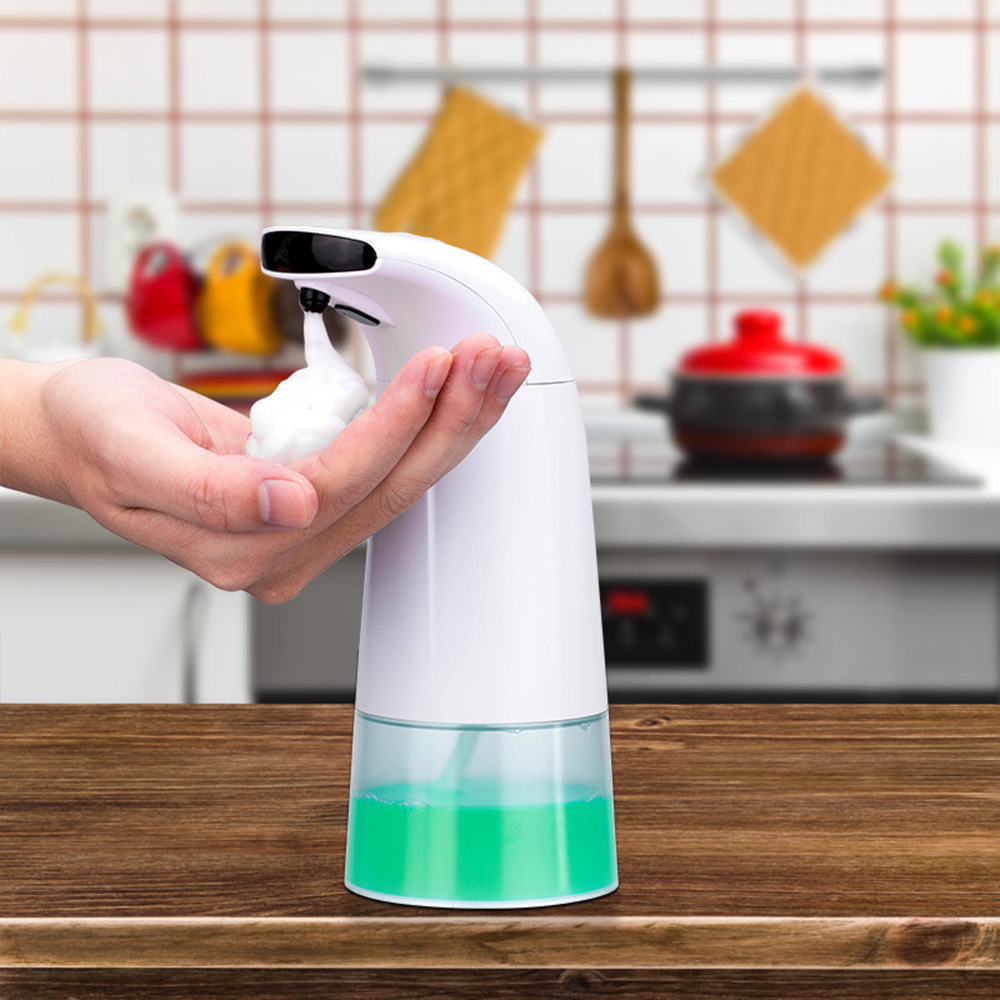 Xiaowei Intelligent Liquid Soap Dispenser Automatic Touchless Induction Foam Infrared Sensor Hand Washing Bathroom Tools from Xiaomi Youpin