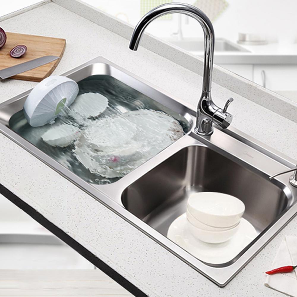 Mini Ultrasonic Dishwasher Portable Fruit Cleaner High Pressure Wave Dish Washer USB Charging Dishwasher