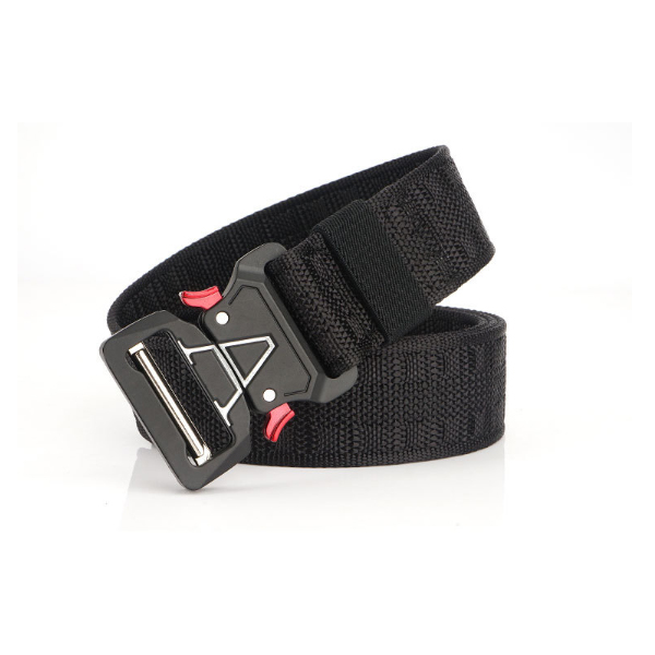 125cm ENNIU MH04 3.8cm Nylon Waist Belts Zinc Alloy Tactical Belt Quick Release Inserting Buckle