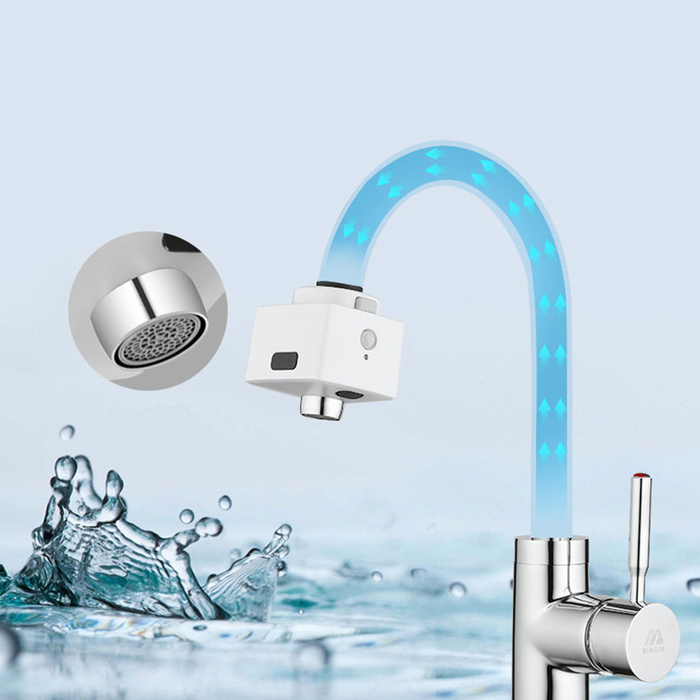 3Life BF03 Smart Double Induction Water Saving Faucet Kitchen Water Filter Infrared Sensor Faucet No Touching Automatic Water Out Device