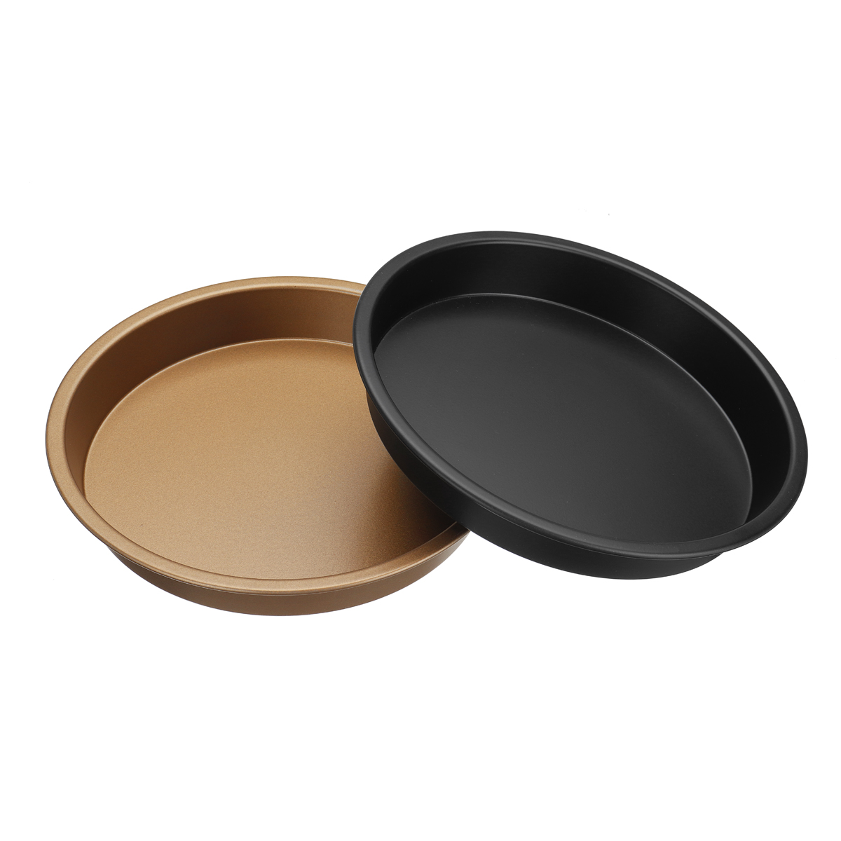 8 Inch Non-stick Pizza Pan Tray Plate Round Carbon Steel Fit for 4.2-6.8QT Air Fryer