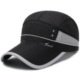 Unisex Quick-drying Washed Baseball Cap Adjustable Mesh Cap Hat Outdoor Leisure Baseball Cap Fishing Sun Hat