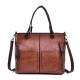 Vintage Designer Large Capacity Handbag Tote Bag Shoulder Bag For Women