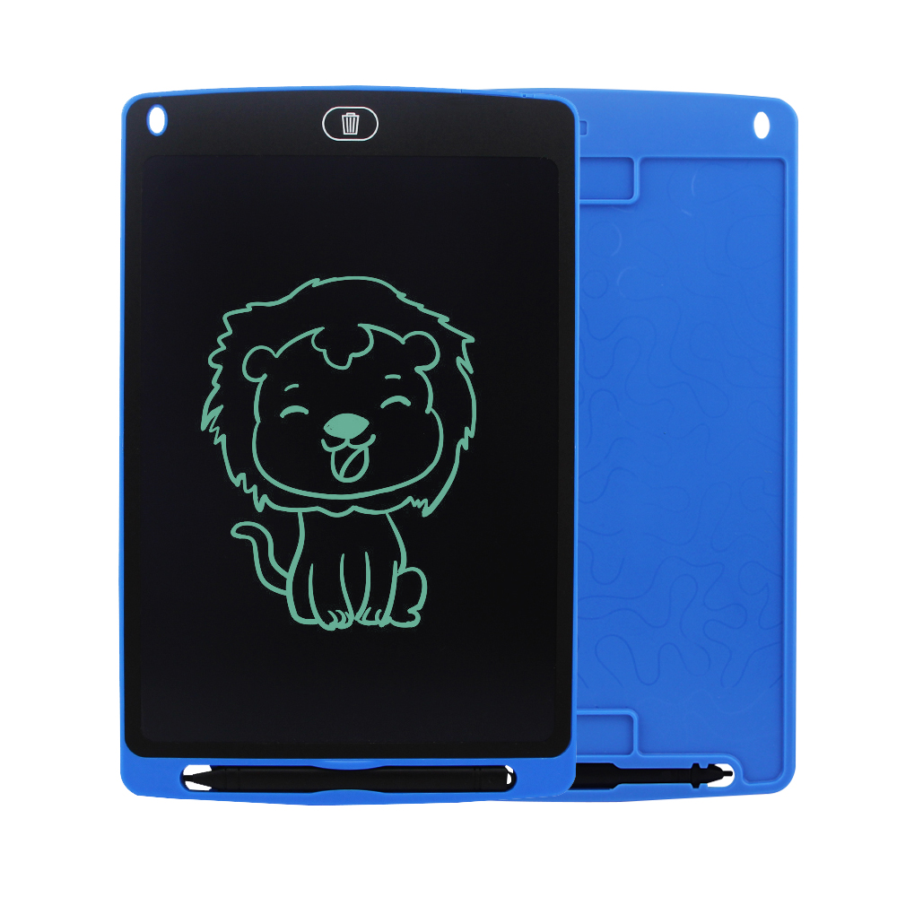 CHUYI 12 Inch LCD Writing Tablet Rough Handwriting Digital Drawing Tablet Electronic Handwriting Pad Message Board Slim Kids Writing Boards with Stylus