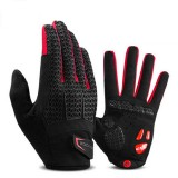 ROCKBROS S169-1B Cycling Gloves Breathable Touch Screen Warm Full Finger Bicycle Bike Gloves
