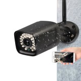 1080P WIFI Waterproof IP Camera CCTV Home Security Voice Intercom Monitor Alarm