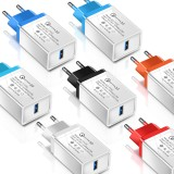 Olaf 3A QC3.0 Fast Charging USB Charger EU Plug Adapter For iPhone X XR XS MAX Xiaomi Pocophone S9 S10
