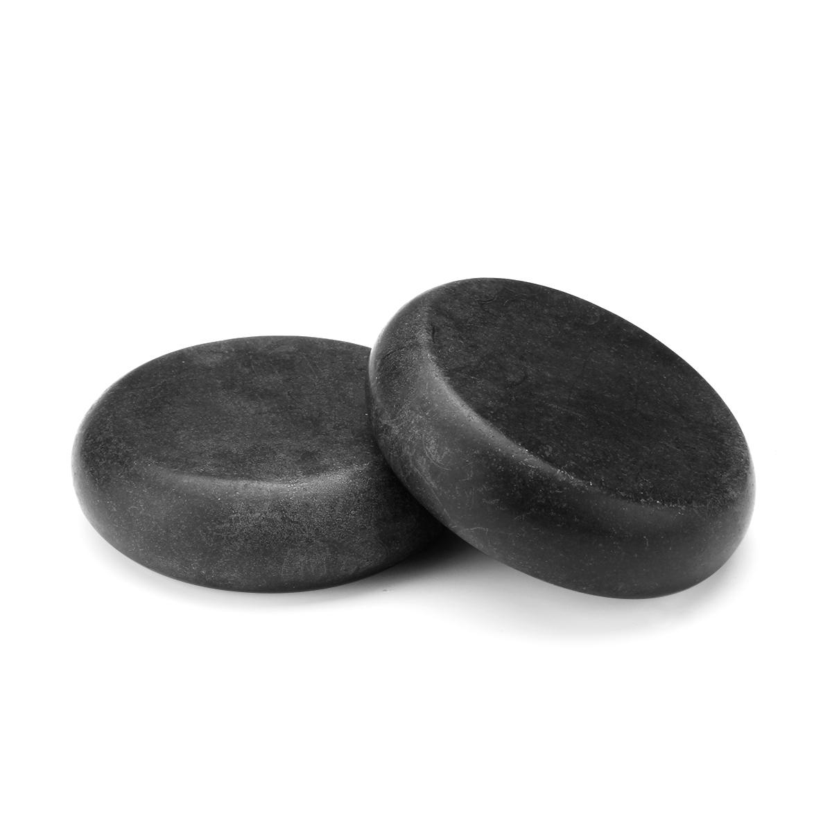 10 Pcs Hot Massage Stones Set Heater Natural Basalt Warmer Rock Kit 2.34 Inch