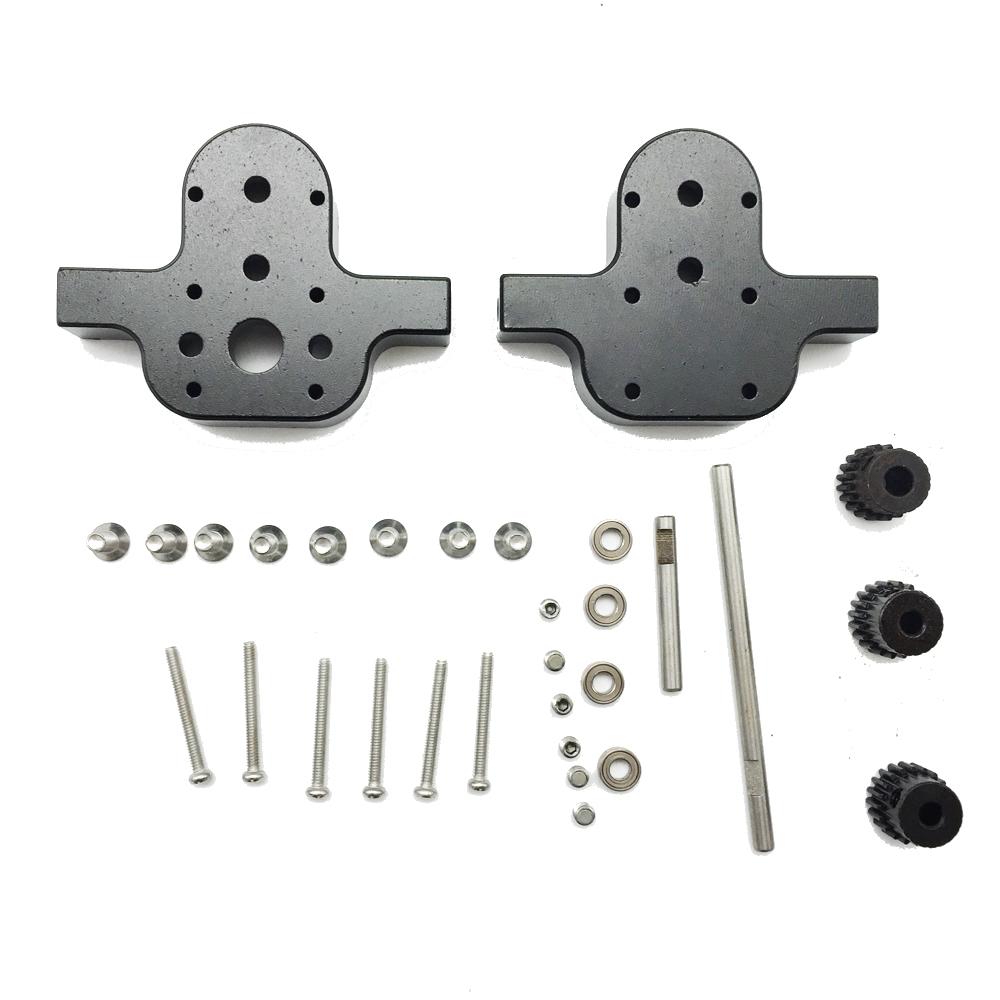 3PCS M3//M4 20T Metal Gears for WPL B16 B24 B36 C14 C24 Rc Car Parts Transfer Gea
