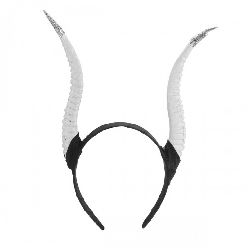 Girls Halloween Stereo Devil Horn Headband Cosplay Hair Hoop for Party Decoration