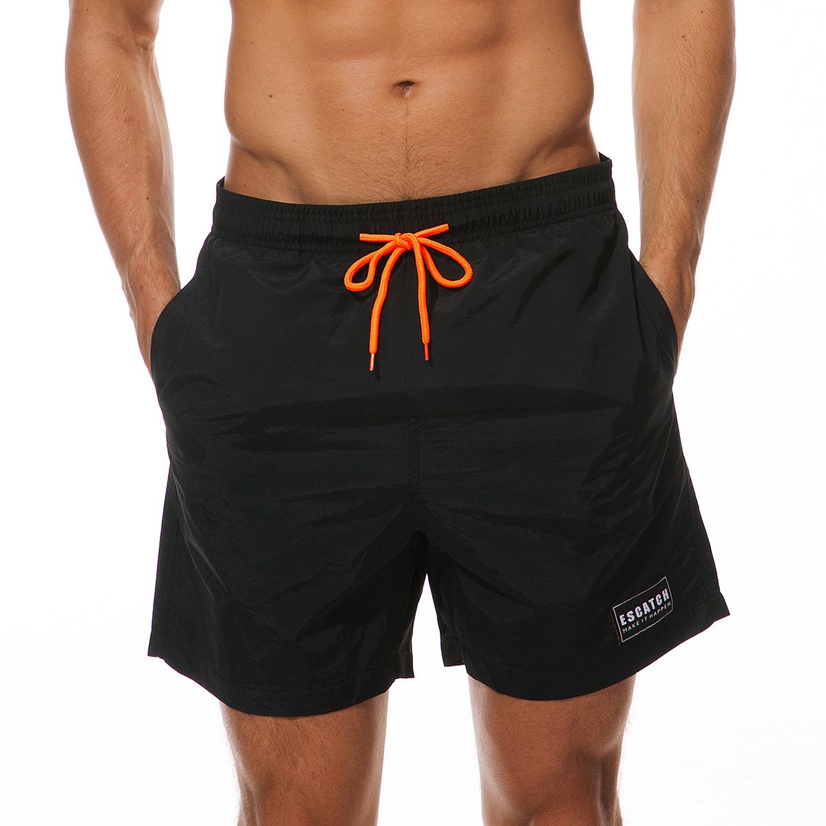 Men's Beach Shorts Beach Swimming Boxer Pant Short Beach Sport Beach Quick Drying Shorts