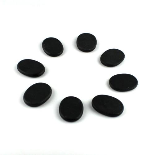 KCASA 20Pcs Natural Energy Hot Stone Set Massage Stone Heater Box Kit Spa Rock Basalt