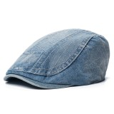 Men Women Cotton Vogue Beret Caps Sunshade Casual Outdoors Peaked Forward Hat