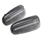 LED Side Marker Indicator Lights Wing Turn Signal Lamp Yellow Pair for Mercedes Sprinter VITO VARIO W210
