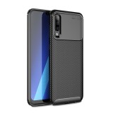 Bakeey Protective Case For Samsung Galaxy A70 2019 Carbon Fiber Fingerprint Resistant Soft TPU Back Cover