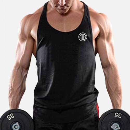 Men Bodybuilding Fitness Gym Digging Type Tank Tops